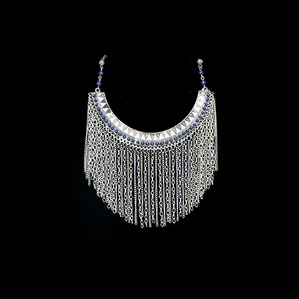 Beautiful traditional handmade silver necklace from Thailand