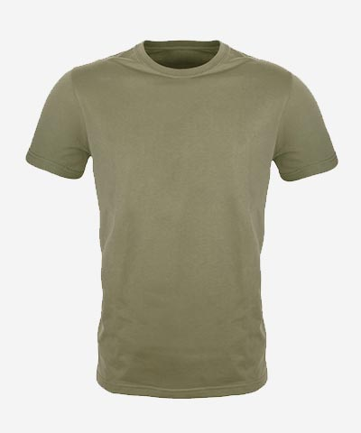 Men's Plain Regular Fit T-Shirt