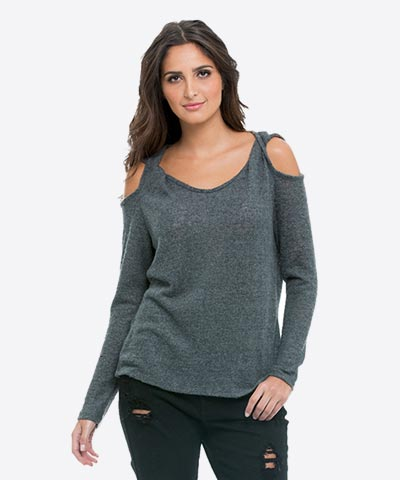 Women's Cold Shoulder Tops