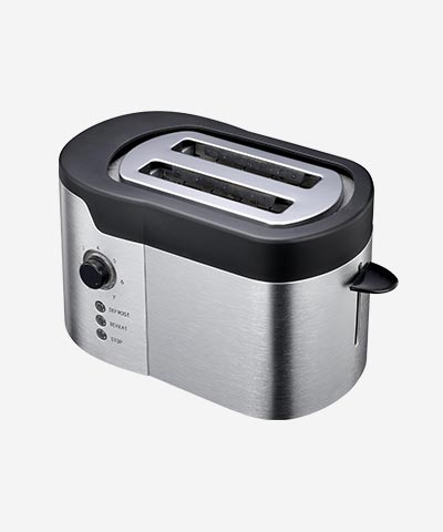 2-Slot Toaster, Steel